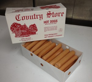 Country Store Hot Dogs